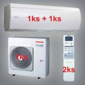 Klimatizace Toshiba SuperDaiseikai 6.5 6kW 1xRAS-B10N 1xRAS-B13N