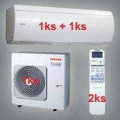 Klimatizace Toshiba SuperDaiseikai 6.5 7kW 1xRAS-B10N 1xRAS-B16N