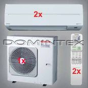 Klimatizace Toshiba Suzumi Plus 5kW RAS-B10N3KV2-E-2x