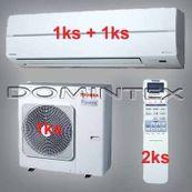 Klimatizace Toshiba Suzumi Plus 7kW 1xRAS-B10N 1xRAS-B16N