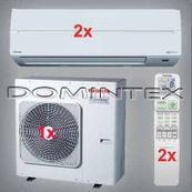 Klimatizace Toshiba Suzumi Plus 7kW RAS-B13N3KV2-E-2x