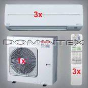 Klimatizace Toshiba Suzumi Plus 10.5kW RAS-B13N3KV2-E-3x