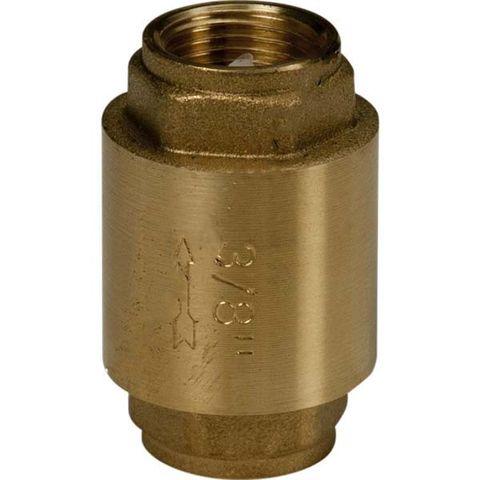"""Zpětný ventil Giacomini R60 1 """"s mosazným diskem"""