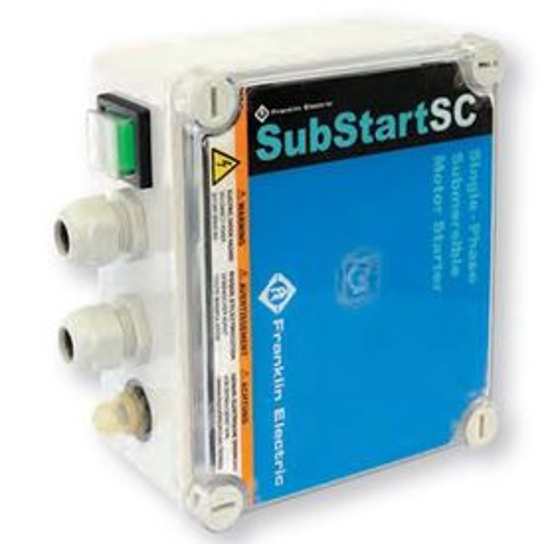 Rozběhová skříňka Franklin Substart 1,5 kW IP 55 230V