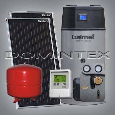 Solární sestava Galmet Premium Easy Air 2GT Basic s tepelným čerpadlem