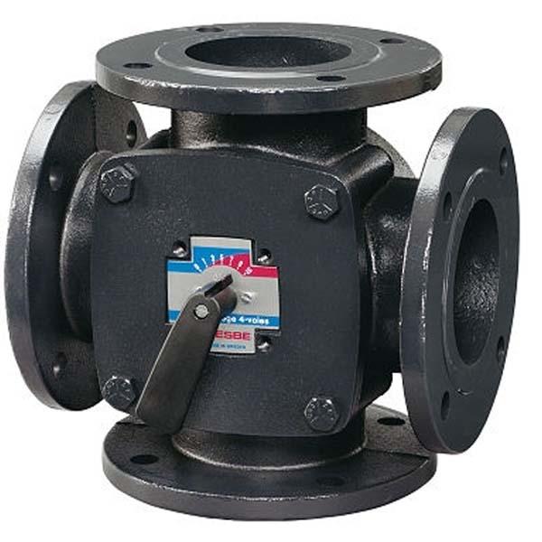 Čtyřcestný ventil ESBE DUOMIX 4F32 DN32 Kv28