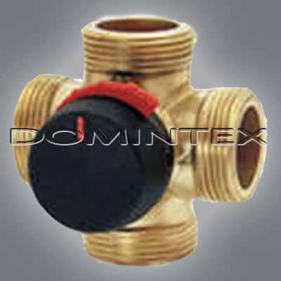 """Čtyřcestný ventil ESBE DUOMIX VRG142 DN25 - 1 1/4 """"Kvs 10-vnější závit"""